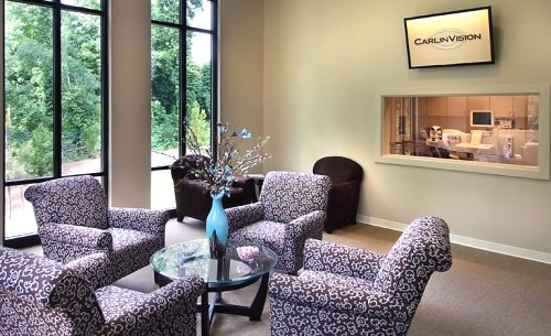 The CarlinVision Lasik Suite Waiting Area