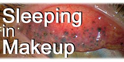Sleeping in Makeup